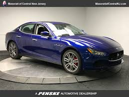 maserati sedan black new maserati ghibli at maserati of central new jersey serving