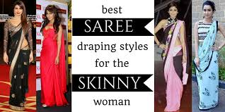 How To Draping How To Drape A Saree To Look Slim Lifestyle Fashion And Make Up