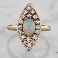 vintage opal engagement rings vintage antique opal engagement rings victor barbone jewelry
