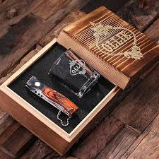 best groomsmen gifts engraved glass and knife set for your best
