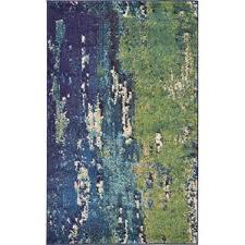 modern green area rugs allmodern