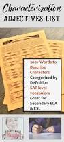 Character Letter Of Recommendation For A Student Best 25 List Of Adjectives Ideas On Pinterest List Of Traits