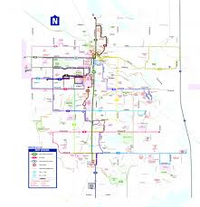 Fort Collins Colorado Map by Routes Ridetransfort