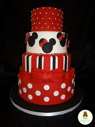 Red Minnie Mouse Cake Decorations 138 Best Mickey Mouse And Minnie Mouse Party Images On Pinterest