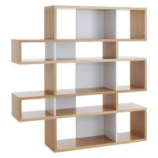 Desk Organizer Shelf by Antonn Tall Oak White Shelving Unit Buy Now At Habitat Uk