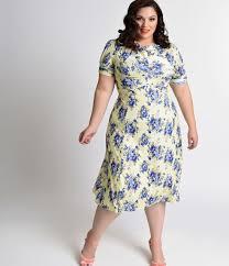plus size vintage style dresses