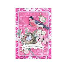 Anna Griffin Craft Room Furniture - anna griffin all about birds and butterflies die cuts 8274956 hsn