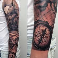 tattoo compass hand 29 cool compass tattoo designs for men