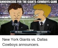 Giants Cowboys Meme - 25 best memes about giants cowboys giants cowboys memes