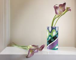 Rosenthal Glass Vase Emilio Pucci For Rosenthal Porcelain Vase In Blue Green U0026 Violet