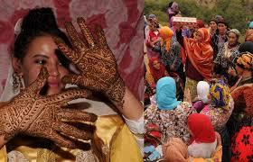 mariage marocain mariage maroc un mariage dans un au maroc aufeminin