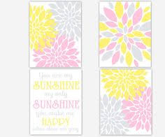 Grey And Yellow Nursery Decor by Pink Grey And Yellow Rooms Pink Yellow Gray For Kaylee Remodel