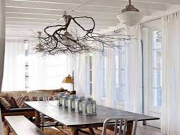 tree branch decor centerpieces dining room table using real tree branches