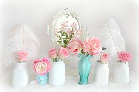 shabby chic flowers shabby chic pink white floral decor shabby