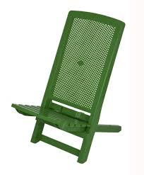 folding deck beach chair plastic compact camping travel garden