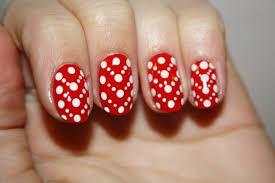 flower dots nail art youtube the easiest polka dot nail art
