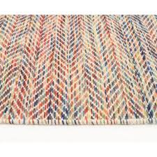 Modern Flat Weave Rugs Rugs Curtains Colorful Flat Weave Wool Rug For Beautiful Living