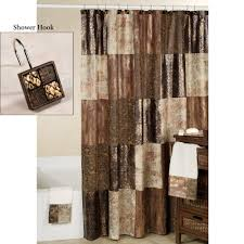 Brown And Gold Shower Curtains Wonderful Decoration Brown And Gold Shower Curtains Interesting