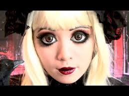 easy diy halloween costumes creepy doll makeup tutorial youtube 65 halloween makeup ideas to try this year anime eyes eye