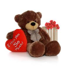 valentines day teddy 5 foot size s day teddy cuddles with
