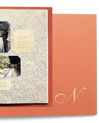 monogrammed scrapbook 36 great scrapbook ideas and albums martha stewart