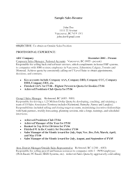 Sample Resumes For Sales Executives Outside Sales Executive Resume Sample By Resume7 Resume Templates
