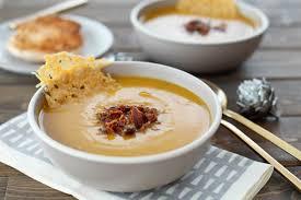 butternut squash soup with parmesan crisps snixy kitchen