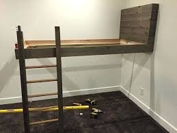 Rv Bunk Bed Ladder Building Bunk Beds Bunk Bed Plans Bunk Bed Building Bunk