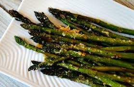 roasted asparagus with parmesan recipe 12bloggers the rebel