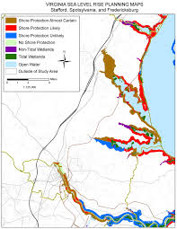 Map Of Eastern Virginia by Sea Level Rise Planning Maps