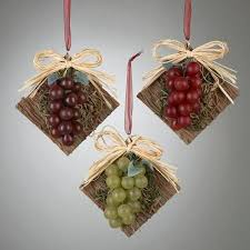 buy club pack of 12 tuscan winery rustic grape cluster