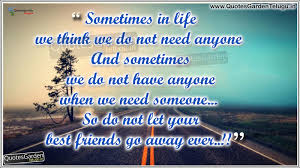 touching quotes for friends in friendship day poems