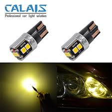 amazon led auto lights amazon com calais extremely bright led 194 168 175 2825 921 t10 w5w