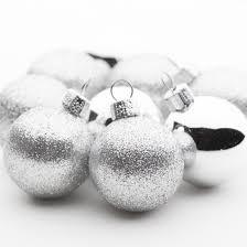 mini silver ornaments ornaments