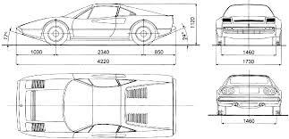 ferrari 308 gtb production version rally group b shrine