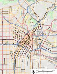 Los Angeles Train Map by File Los Angeles Railway Yellow Cars Streetcars Svg Wikimedia