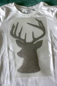 diy hipster rudolph shirt made on cricut explore hello creative