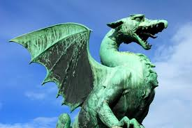 dragon bridge visit ljubljana