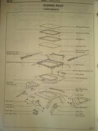 lexus ls400 calgary 1991 sunroof diagram