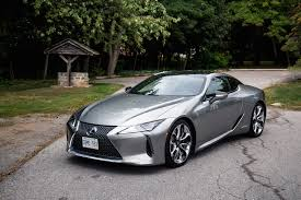 silver lexus review 2018 lexus lc 500h canadian auto review