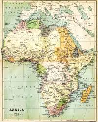 Map Of Southwest Asia And North Africa by Historical Map Of Africa In 1885 Nations Online Project