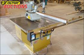 table saw power feeder ex factory auctions view track bid win