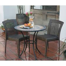 belham living solita mosaic 30 in round outdoor bistro table