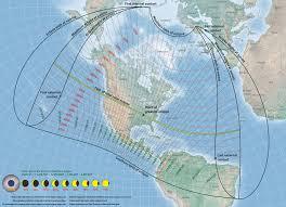 Eclipse Maps Nasa U0027s Total Solar Eclipse Maps Show Best Viewing Spots Photos