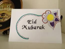 eid card hand stenciling underway eid ramadan pinterest eid