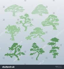 different types trees vector stock vector 361071071 shutterstock
