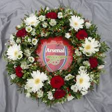 funeral wreaths arsenal wreath seasons florists london