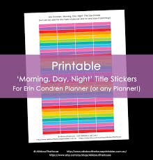 free teacher planner template printable rainbow calendar stickers for erin condren planner or printable calendar stickers eclp 12 colours rainbow morning day night