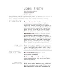 resume template for wordpad resumes templates word basic resume template from cv template