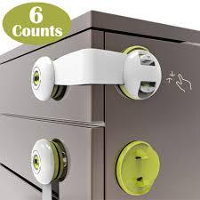 kitchen cupboard door child locks fridge drawer smbox child safety cupboard locks stick on